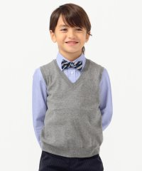 SHIPS KIDS:14GG Vネック ベスト(S~LL)【OCCASION COLLECTION】