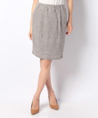 【セットアップ対応商品】無地ループヤーンタイトスカート