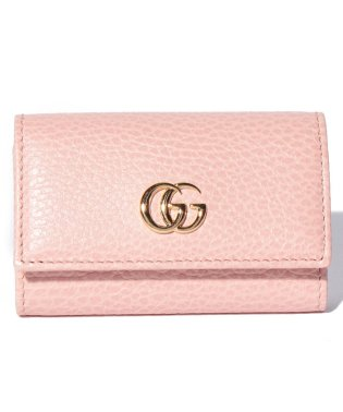【GUCCI】プチ マーモント / キーケース 【PERFECT PINK】