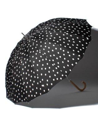 BE SUNNY ビーサニー 長傘【16本骨】 ナチュラルドット (晴雨兼用 UV 紫外線カット  耐風 軽量 撥水)
