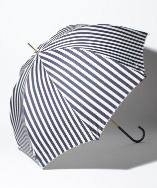 BE SUNNY ビーサニー 長傘 【深張り】 ストライプ (晴雨兼用 UV 紫外線カット  耐風 軽量 撥水)