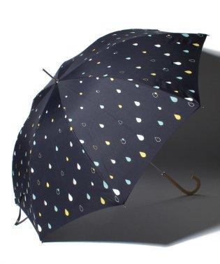 BE SUNNY ビーサニー ノーマル長傘 カラフルドロップ (晴雨兼用 UV 紫外線カット  耐風 軽量 撥水)