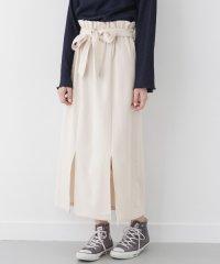 【WAREHOUSE】ウエストリボンタイトロングスカート
