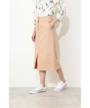 【sweet 4月号掲載】チノストレートスカート