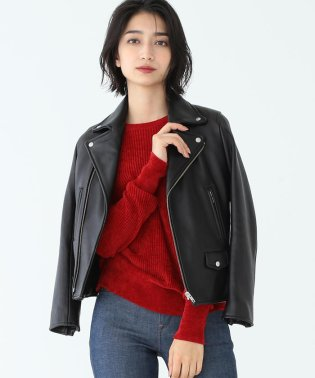 Demi-Luxe BEAMS / ラムレザーライダースジャケット