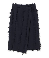 Demi-Luxe BEAMS / フリンジ ラップスカート