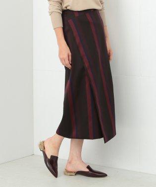 Demi-Luxe BEAMS / マルチストライプスカート