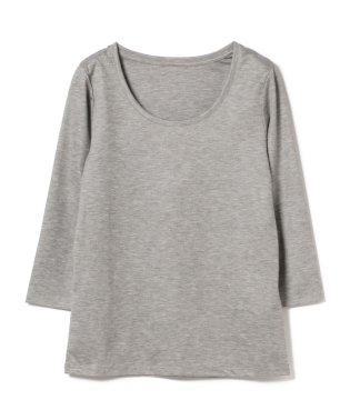 Demi-Luxe BEAMS / テンセル ベーシック 7分袖シャツ