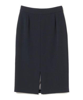 Demi-Luxe BEAMS / トリアセ スリットタイトスカート