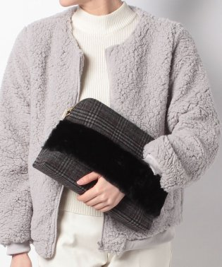 Combination Fur Clutch