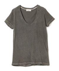 Ray BEAMS High Basic / スクープ ネック Tシャツ