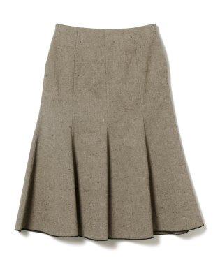 Demi-Luxe BEAMS / ネップツイード マーメードスカート