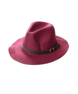 Dita【ディータ】フェルトPUベルト付き中折れつば広HAT