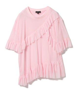 sister jane / ソフトチュール ラッフル Tシャツ