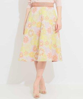 オリジナルフラワージャカードスカート