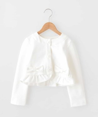 【セレモニースタイル】ノーカラーカットジャケット