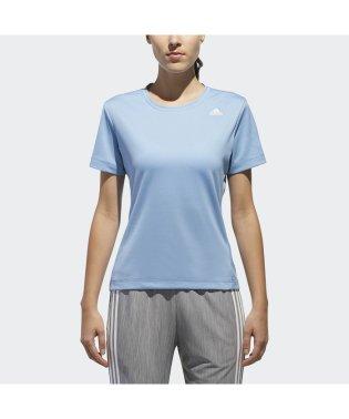アディダス/レディス/W D2Mトレーニング定番ロゴワンポイント半袖Tシャツ