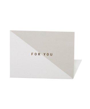 選べる4柄シンプルロゴメッセージカード