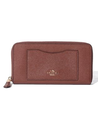 COACH OUTLET F54007 IMEB0 ラウンドファスナー長財布