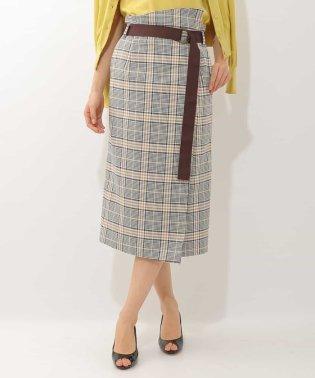 オリジナルチェックタイトスカート