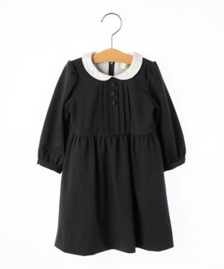 SHIPS KIDS:ピンタック 長袖 ワンピース(90cm)【OCCASION COLLECTION】