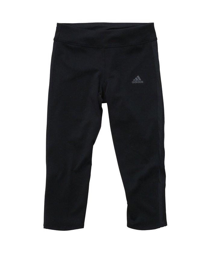 (adidas/アディダス)アディダス/レディス/RESPONSE 3/4タイツW/レディース ブラック/ブラック