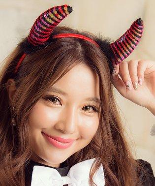 costume【コスチューム】コスプレ/小悪魔ツノカチューシャハロウィン