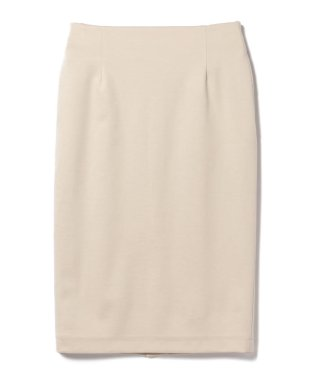 【洗える】Demi-Luxe BEAMS / ポンチ ウエストゴム スカート