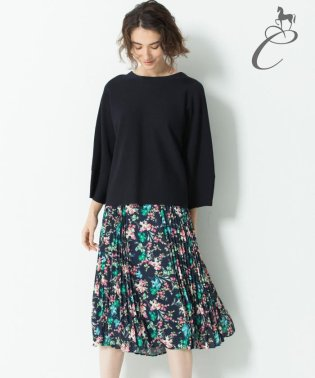 【Class Lounge】BOUQUET PRINT スカート(検索番号Y56