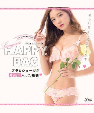 DITA【ディータ】 おまかせ可愛いブラショーツ4点セット福袋
