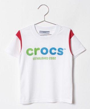 CROCS半袖ロゴTシャツ