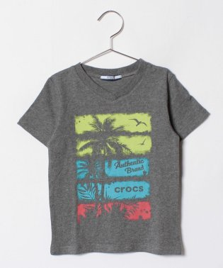 CROCS半袖風景柄Tシャツ
