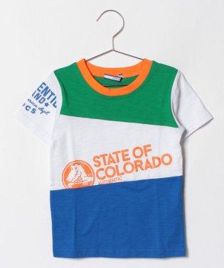 CROCS半袖切替Tシャツ