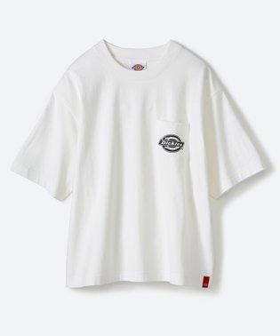 Dickies別注 ゆったり着られてちょうどいい ロゴプリントポケットTシャツ