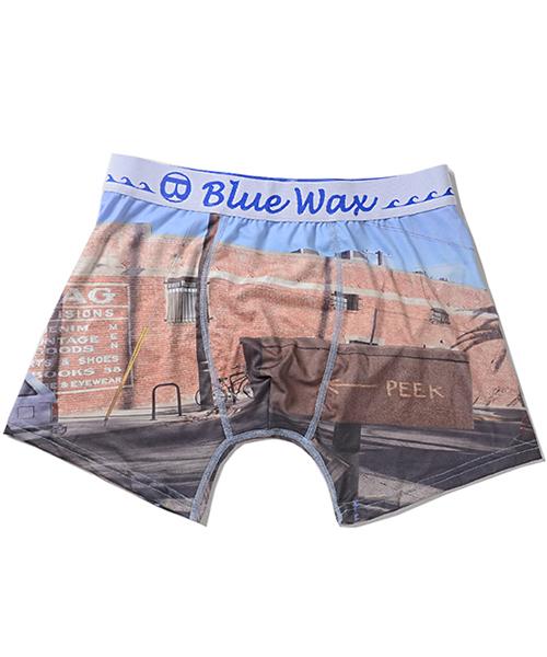 BlueWax【ブルーワックス】Sign and brick ボクサーパンツ