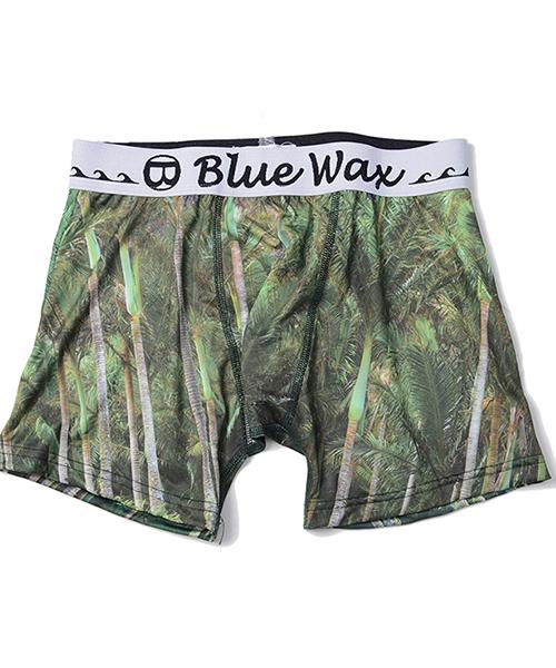 BlueWax【ブルーワックス】Palm tree ボクサーパンツ