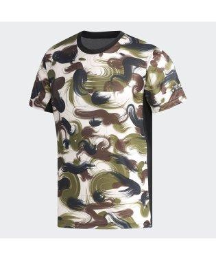 アディダス/メンズ/M4T ブラッシュカモTシャツ