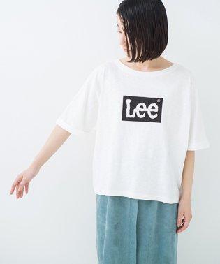 【mer8月号掲載】別注 LeeゆるシルエットのロゴTシャツ