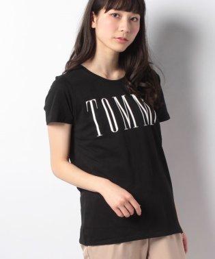 コットンブレンドロゴTシャツ