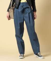 cotton twill paperbag waist pants