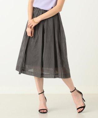 【CLASSY.6月号掲載】Demi-Luxe BEAMS / ギンガムチェック スカート