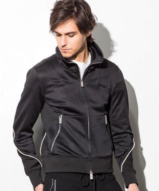 CDM BY CARPEDIEM(シーディーエム バイ カルペディエム) パイピングデザイントラックジャケット
