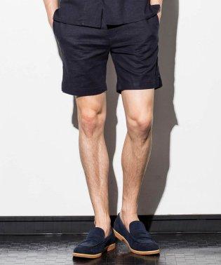 JH junhashimoto(ジェイエイチ ジュンハシモト) ストレッチリネンショート丈パンツ