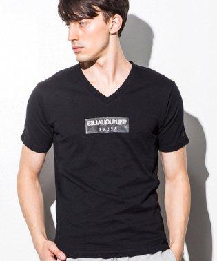 【雑誌LEON 4月号掲載】1PIU1UGUALE3 RELAX(ウノピゥウノウグァーレトレ) ボックスロゴプリントTシャツ