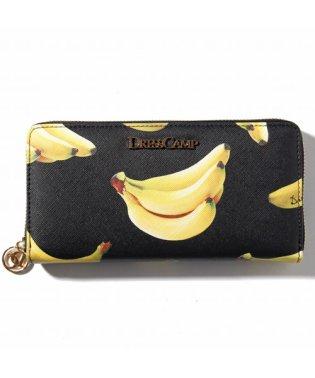 DRESSCAMP (ドレスキャンプ) バナナフォトプリントラウンドジップウォレット/長財布