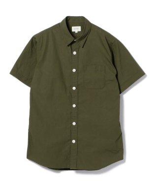BEAMS / ストレッチブロード半袖シャツ