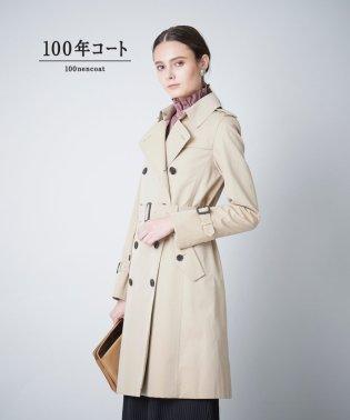 ◆◆<100年コート>ダブルトレンチコート(三陽格子)