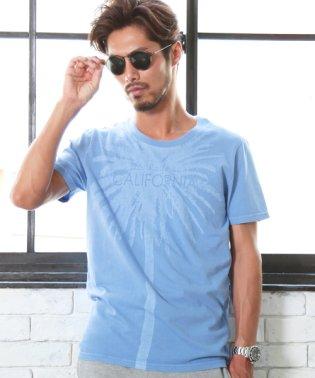 ピグメントプリント半袖Tシャツ