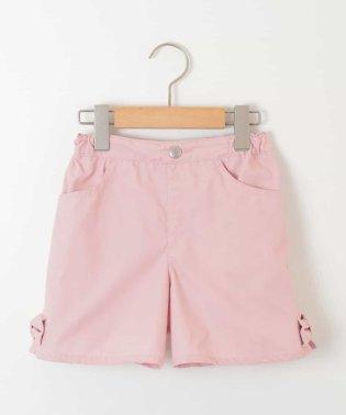 [100-130]裾リボン付ショートパンツ[WEB限定サイズ]
