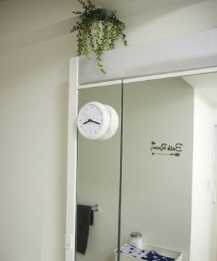 〈RELAX〉BATH TIME WALL CLOCK